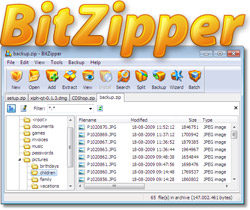BitZipper screenshot
